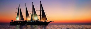Premium Windstar sailing ship charter is perfect for sales incentive cruise. | Landry & Kling Small Luxury Ship Charters